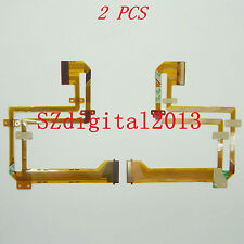 2PCS/ NEW LCD Flex Cable For Sony DCR-SX20E DCR-SX21E Video Camera Repair Part