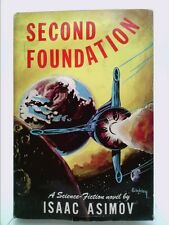 Second Foundation by Isaac Asimov, First edition hardcover with DJ,...  (1st Ed)