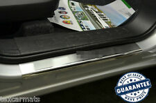 Fiat Doblo II 2010- Stainless Steel Door Sill Entry Guard Covers Trim Protectors