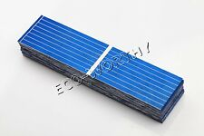100pcs 78x19mm Poly Solar Cells for DIY Solar Panel Hobby Total 23W 0.25W/Pc