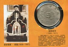 PIECE ASIE / CHINE CHINA / EMPEROR XUANTONG EMPEREUR 1909/1911