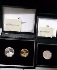 Malaysia Muzium Single Silver & Proof Coin set of 2 same SN678
