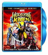 Wolverine and the X-Men: Complete Animated Marvel TV Series BluRay Set NEW!