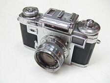 ZEISS IKON CONTAX 111A COLOURED DIAL + f2 OPTON SONNAR + CASE