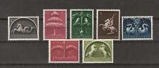 NVPH Netherlands Nederland nr 405 - 411 MLH ongebruikt 1943 Germaanse symbolen