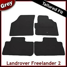 Land Rover Freelander Mk2 2006-2014 Fully Tailored Carpet Car Floor Mats GREY