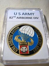 US ARMY 82nd Airborne Division Commemorative Challenge Coin