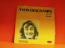 YVON DESCHAMPS - 1972-1973 VOLUME 3 - POLYDOR CANADA DOUBLE EX LP VINYL -K