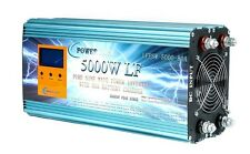 LF 5000W PURE SINE WAVE POWER INVERTER DC 12V TO AC 230V ,CHARGE,UPS,NO TAX