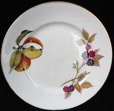 Royal Worcester Made In England Evesham Gold Porcelain Bread And Butter Plate