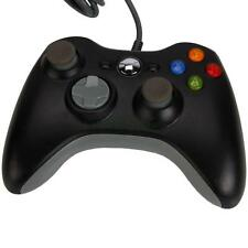 Black Wired Remote Controller Joystick for Microsoft Xbox 360 Console PC