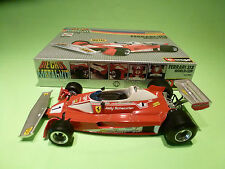 BBURAGO 7051 FERRARI 312 WORLD CUP - SCHECKTER F1 - RARE  - VERY GOOD CONDITION