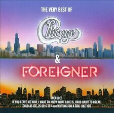 The  Very Best of Chicago & Foreigner by Chicago/Foreigner (CD, Oct-2010, 2...