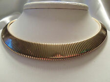 (PARK LANE) AWESOME Style Classic Ridge Goldtone CLEOPATRA Collar Necklace 13N01