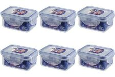 6 x Lock and & Lock Plastic Food Container HPL805 Small Mini Boxes Herbs Spices