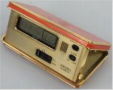 Vintage Pocket Seiko Travel LCD Alarm Clock