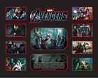 New The Avengers Signed Limited Edition Memorabilia Framed