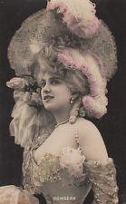 Beautiful Actress Arlette Dorgere Antique Photo Postcard