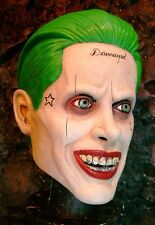 JOKER SUICIDE SQUAD LATEX MASK -- Jared Leto Halloween Costume !!!!