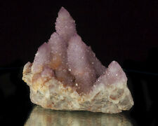 "4.1"" Sparkling Lavender SPIRIT AMETHYST Multi Crystal Cluster So.Africa for sale"
