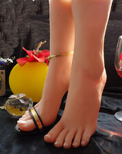 NEW Top Quality Realistic Silicone Female Feet Shoes Displays Model Mannequin