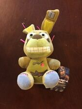 Five Nights At Freddy's Plush Wave 2 SPRINGTRAP PLUSH - New With Tags - Box Ship