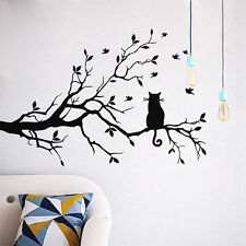 DIY Home Decor Cat Tree Mural Removable Decal Room Wall Sticker Vinyl Art