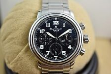 Blancpain Leman Flyback Chronograph 2185F-1130-71, with box and paper, mint