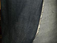 top destockage, tissu jean facon levis epais  bleu fonce 100x140 cm
