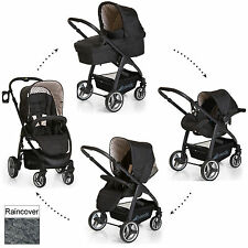 NEW HAUCK LACROSSE DOTS ALL IN ONE TRAVEL SYSTEM PUSHCHAIR CARRY COT CAR SEAT