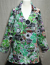 "MICHELE HOPE Green Sequin Size 22/24 Tunic Top 54"" Bust BNWT Silky Dressy Smart"