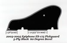 Epiphone ES-175 2003-2005 5-Ply Black Pickguard W/60 Deg Edge Guitar Project NEW