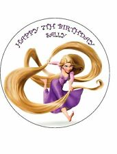 7.5 RAPUNZEL TANGLED EDIBLE ICING BIRTHDAY CAKE TOPPER