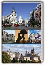 Madrid Spain Fridge Magnet