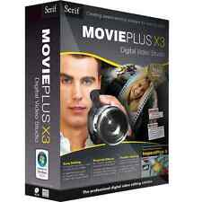 NEW and Sealed Serif MoviePlus X3 Digital Video Redigering by Serif