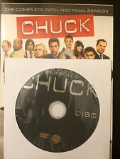 Chuck – Season 5, Disc 1 REPLACEMENT DISC (not full season)