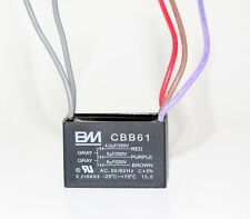BM CEILING FAN CAPACITOR CBB61 4.5uf+5uf+6uf 5WIRE