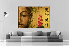 ZEN  BOUDDHA BUDDHA PEACE OF MIND  Grand format A0 Large Print