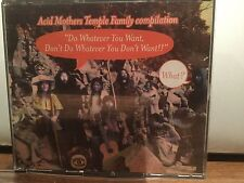 ACID MOTHER TEMPLE FAMILY DO WHATEVER YOU WANT 3 CD COMP JAPAN PSYCHEDELIC ROCK