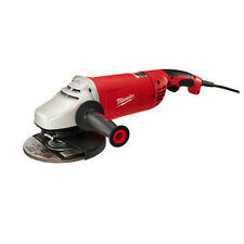 "Milwaukee 7""/9"" Large Angle Grinder with Lock-On Button 6088-30 New"