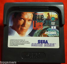 True Lies - Arnold Schwarzenegger - Acclaim - SEGA Game Gear GG