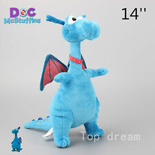 Official Disney Jr. Doc Mcstuffins Stuffy Dragon Soft Plush Toy Doll 14'' Teddy