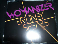Britney Spears Womanizer Rare Australian 2 Track CD Single - Like New