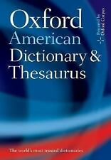 Oxford American Dictionary and Thesaurus Hardcover
