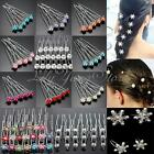 5/20pcs Wedding Bridal Pearl Flower Crystal Hairpin Hair Pins Clips Accessary