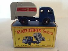 Matchbox Tippax Refuse Collector 15 nr Mint Boxed