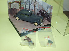 CITROEN TRACTION TAXI Gris 1948 Help Taxi & 2Fig SOLIDO