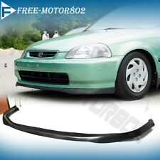For 96-98 Honda Civic JDM SIR Front Bumper Lip Spoiler Bodykit Poly-Urethane
