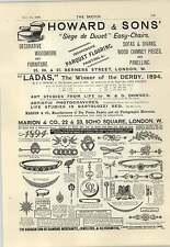 1894 Hotel Victoria Trafalgar Square Luncheon Three And Sixpence