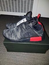 Adidas NMD XR1 ''BRED'' Primeknit Black White Red Men's Trainers US 8.5